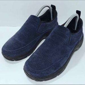 L L Bean Suede Slip On Shoes
